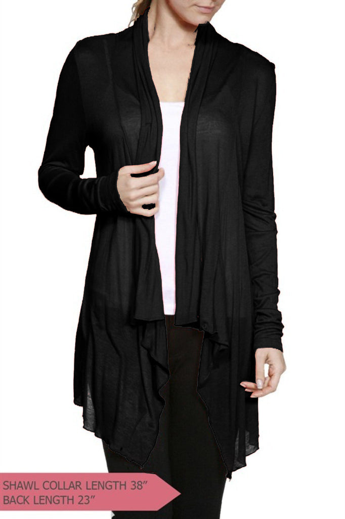 Long Sleeve Fly Away Cardigan - BodiLove | 30% Off First Order  - 1