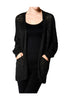 Long Sleeve Oversize Open Front Cardigan - BodiLove | 30% Off First Order  - 1