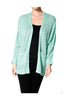 Long Sleeve Oversize Open Front Cardigan - BodiLove | 30% Off First Order  - 3