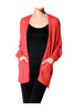 Long Sleeve Oversize Open Front Cardigan - BodiLove | 30% Off First Order  - 7