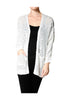 Long Sleeve Oversize Open Front Cardigan - BodiLove | 30% Off First Order  - 11