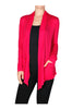 Long Sleeve Draped Open Front Cardigan - BodiLove | 30% Off First Order  - 4