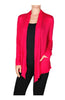 Long Sleeve Draped Open Front Cardigan - BodiLove | 30% Off First Order  - 3