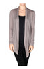 Long Sleeve Draped Open Front Cardigan - BodiLove | 30% Off First Order  - 9