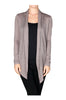 Long Sleeve Draped Open Front Cardigan - BodiLove | 30% Off First Order  - 10