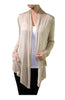 Long Sleeve Draped Open Front Cardigan - BodiLove | 30% Off First Order  - 12