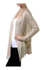 Long Sleeve Draped Open Front Cardigan - BodiLove | 30% Off First Order  - 14