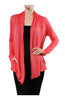 Long Sleeve Draped Open Front Cardigan - BodiLove | 30% Off First Order  - 22