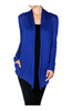 Long Sleeve Draped Open Front Cardigan - BodiLove | 30% Off First Order  - 25