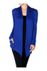 Long Sleeve Draped Open Front Cardigan - BodiLove | 30% Off First Order  - 26