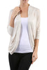3/4 Sleeve Open Front Shrug Cardigan - BodiLove | 30% Off First Order - 9