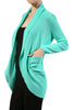 Long Sleeve Open Front Shrug Cardigan - BodiLove | 30% Off First Order - 21