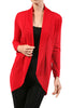Long Sleeve Open Front Shrug Cardigan - BodiLove | 30% Off First Order - 19