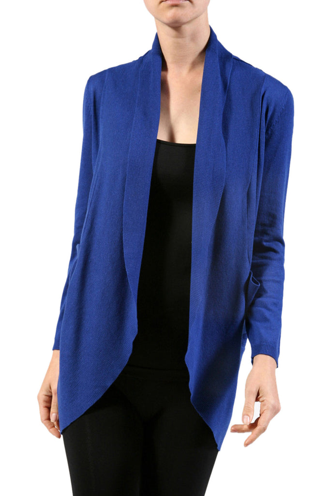 Long Sleeve Open Front Shrug Cardigan - BodiLove | 30% Off First Order - 17