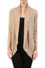 Long Sleeve Open Front Shrug Cardigan - BodiLove | 30% Off First Order - 14