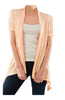 Draped Short Sleeve Open Front Cardigan - BodiLove | 30% Off First Order  - 19