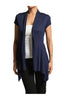 Draped Cap Sleeve Open Front Cardigan - BodiLove | 30% Off First Order  - 6