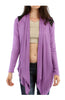 Faux Leather Yoke Long Sleeve Cardigan - BodiLove | 30% Off First Order  - 4