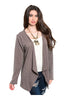 Draped Long Sleeve Open Front Cardigan - BodiLove | 30% Off First Order - 9
