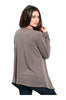 Draped Long Sleeve Open Front Cardigan - BodiLove | 30% Off First Order - 10