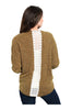 3/4 Sleeve Open Front Cocoon Knit Cardigan - BodiLove | 30% Off First Order  - 1