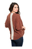 3/4 Sleeve Open Front Cocoon Knit Cardigan - BodiLove | 30% Off First Order  - 4