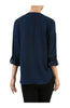 3/4 Sleeve Chiffon V-Neck Blouse - BodiLove | 30% Off First Order  - 6
