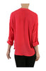 3/4 Sleeve Chiffon V-Neck Blouse - BodiLove | 30% Off First Order  - 10