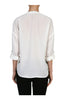 3/4 Sleeve Chiffon V-Neck Blouse - BodiLove | 30% Off First Order  - 14