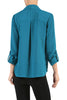3/4 Sleeve, Surplice Blouse | 30% Off First Order | Teal