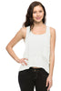 Layered Chiffon Hi Low Tank W/ Lace Back - BodiLove | 30% Off First Order  - 8
