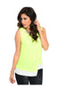 Sleeveless Color Blocked Wrap Blouse - BodiLove | 30% Off First Order  - 11