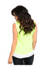 Sleeveless Color Blocked Wrap Blouse - BodiLove | 30% Off First Order  - 12