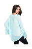 Sheer Chiffon Long Sleeve Blouse W/ Lace Trim - BodiLove | 30% Off First Order  - 10
