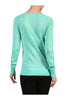 Long Raglan Sleeve Knit Sweater - BodiLove | 30% Off First Order - 21 | Green