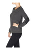 Textured Sweater W/ Faux Leather Elbow Pads - BodiLove | 30% Off First Order  - 13