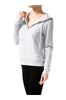 Long Sleeve Zip-Up Hooded Sweatshirt - BodiLove | 30% Off First Order  - 8