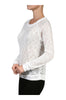 Long Sleeve Top W/ Crochet Lace Bodice - BodiLove | 30% Off First Order - 5