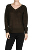 Long Sleeve V-Neck Cable Knit Sweater - BodiLove | 30% Off First Order  - 7