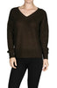 Long Sleeve V-Neck Cable Knit Sweater - BodiLove | 30% Off First Order  - 6