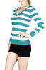 Striped Long Sleeve Knit Sweater - BodiLove | 30% Off First Order - 11