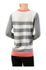Striped Long Sleeve Knit Sweater - BodiLove | 30% Off First Order - 5