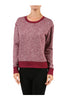Long Sleeve Pull Over Crew Neck Sweatshirt - BodiLove | 30% Off First Order - 7 | Dark Red