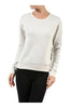 Long Sleeve Pull Over Crew Neck Sweatshirt - BodiLove | 30% Off First Order - 10 | Oatmeal