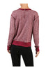 Long Sleeve Pull Over Crew Neck Sweatshirt - BodiLove | 30% Off First Order - 8 | Dark Red