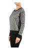 Long Sleeve Pull Over Crew Neck Sweatshirt - BodiLove | 30% Off First Order - 6 | Charcoal1
