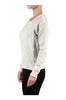 Long Sleeve Pull Over Crew Neck Sweatshirt - BodiLove | 30% Off First Order - 12 | Oatmeal