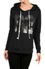 Long Sleeve Hooded Sweatshirt W/ Sequins - BodiLove | 30% Off First Order - 1