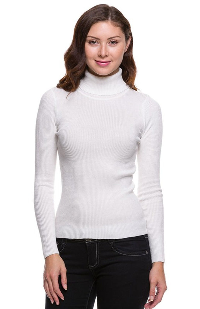 Trendy Long Sleeve Turtleneck Sweater - BodiLove | 30% Off First Order  - 22