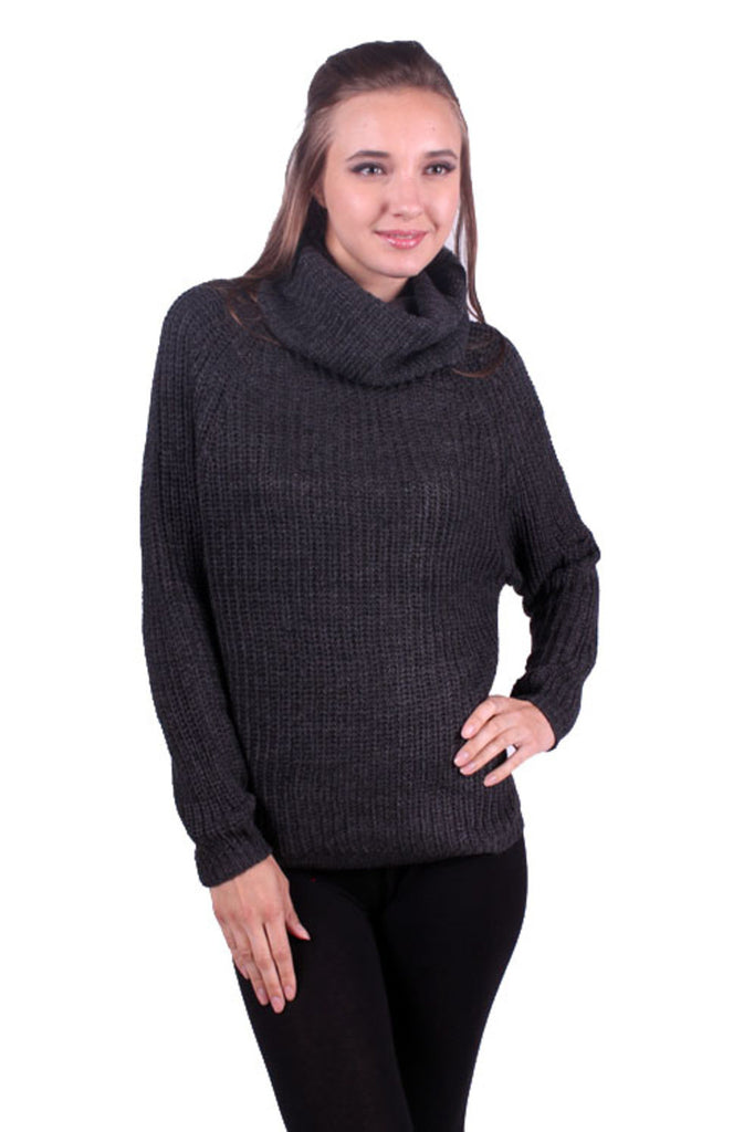 Trendy Long Sleeve Turtleneck Sweater - BodiLove | 30% Off First Order - 3